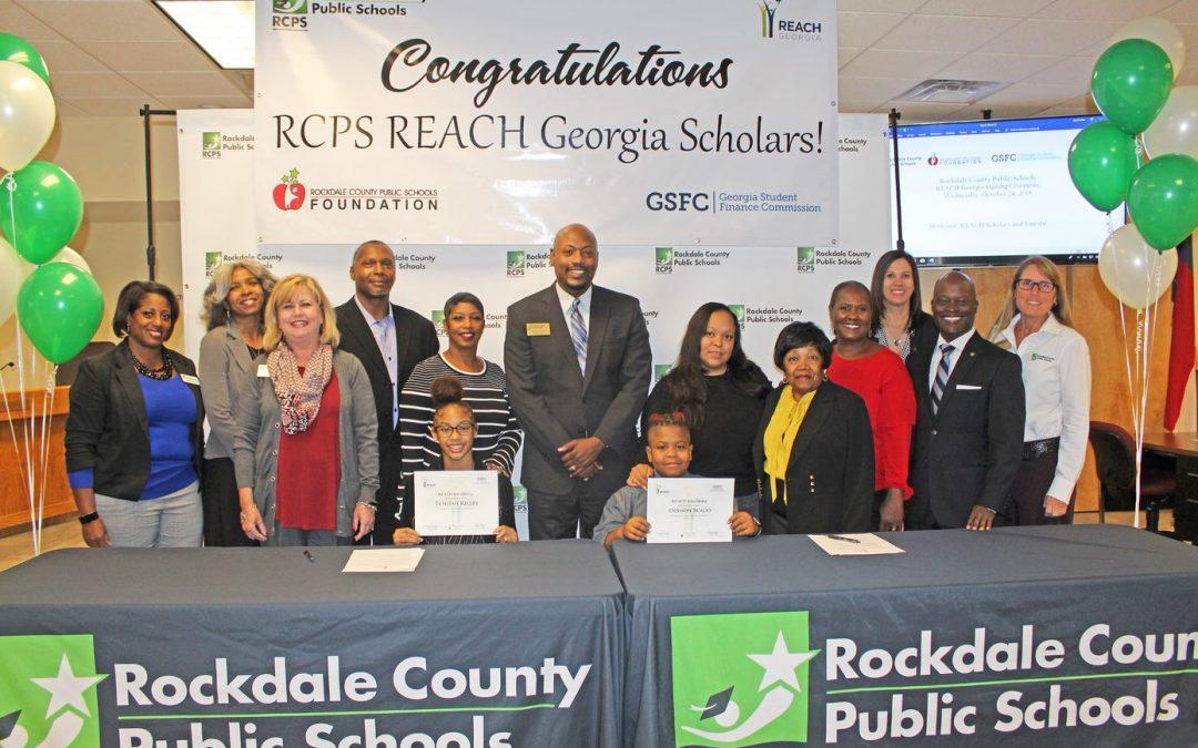 REACH GA Scholarship Signing